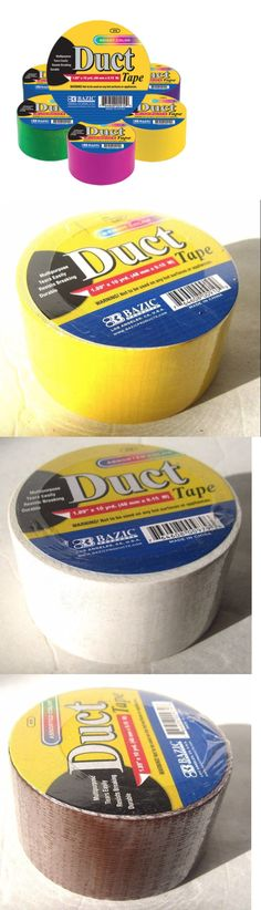 Craft Tape 122694: Bazic Assorted Color 1.89 X 10 Yard (48Mmx9.15M) Duct Tape For Art Craft Lot -> BUY IT NOW ONLY: $35 on eBay!