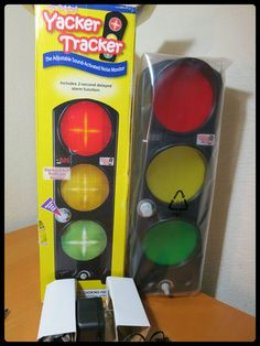 Yacker Tracker Noise Meter Featuring Intuitive Traffic Signal Design Great For Clrooms And Daycare