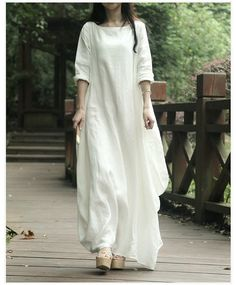 If I could dress for.myself and not to fit in I would wear raw linen all the time