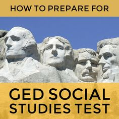 Not confident about your knowledge of history for the #GED #SocialStudies test? Have you always found it hard to memorize historical facts? Do you find history boring? Has it been a while since you last read a social studies textbook? You've come to the right place to study for the GED social studies test.  #Study #Guide #TestPrepToolkit #GEDStudy #GEDTest #On…