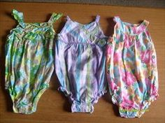 EUC GIRLS CARTER'S LOT QTY OF 3 SUMMER ROMPERS SZ 18MOS     Price: $10.00