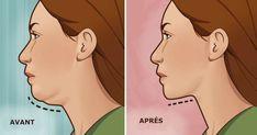 5 Exercices simplissime pour vous débarrasser du double menton