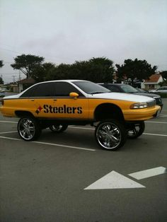 Steelers cars BLACK & GOLD - Super Dave needs a new ride | Go ...