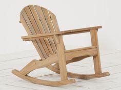Lekker schommelen in een Canadese Adirondack chair. Het ziet er robuust uit, maar het zit als gegoten! Als je hier eenmaal in zit kun je beter alvast je afspraken afzeggen, want je wilt er niet meer uit komen!
