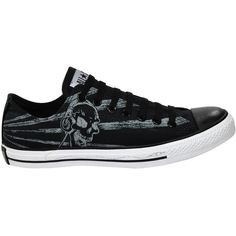 Tênis Converse All Star Print Skull Phone Ox Preto ❤ liked on Polyvore 0575a42766