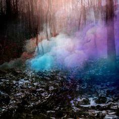 Smoke and colors