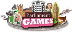 Parliament games site for children