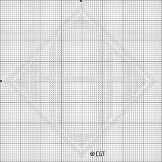 Free HHH Cross Stitch Pattern - Letter H Monogram Cross Stitch Chart