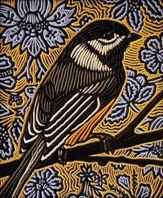 Lisa Brawn woodcut