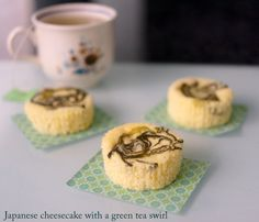 Japanese cheesecake cupcakes: soft, fluffy and like eating a cloud!