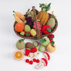 Fruits en crochet