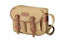 Billingham Hadley Small Camera or Document Shoulder Bag Canvas with Tan Leather Trim and Brass Fittings Khaki * More info could be found at the image url.