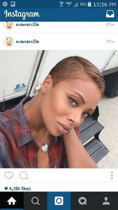 Love this hair color Short Black Hairstyles, Pixie Hairstyles, Cool Hairstyles, Short Sassy Hair, Short Hair Cuts, Gorgeous Hair, Love Hair, Beautiful, Curly Hair Styles