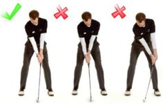 Correct Position Of The Hands   Free Online Golf Tips