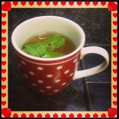 Lemon with  mint tea