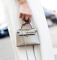 mini-sized Kelly bag