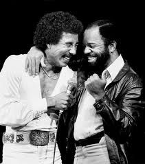 Smokey Robinson and Founder of Motown Berry Gordy