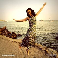 Jumping for joy! Work and play. Thank you Ibiza #lovelancome...