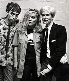 milkteeths:    (via Chris Stein, Debbie Harry and Andy Warhol | This Is Not Porn - Rare and beautiful celebrity photos)