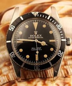 Rolex Submariner 5508 Gilt Ghost Dial with Exclamation