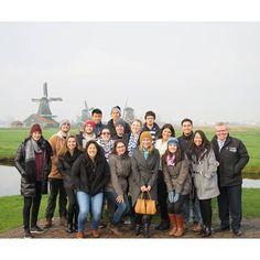 Group shot of @uceap at Zaanse Schaans - Simply #cestastic