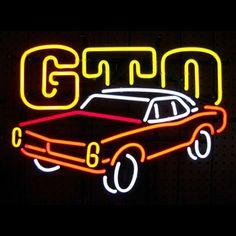 GTO Neon Sign