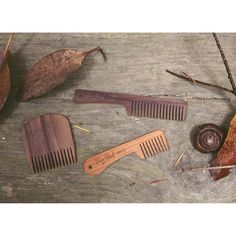 Trio in the wild. #beardcomb #beards #bigredbeardcombs #beardoil #comb #walnut #cherry