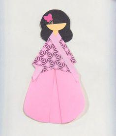 sayaka doll japanese origami pinterest free paper