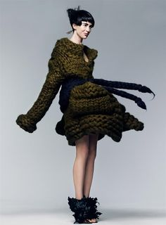 """""""new sensations""""- coco rocha and raquel zimmermann by craig mcdean for vogue sept 2007. styled by grace coddington"""