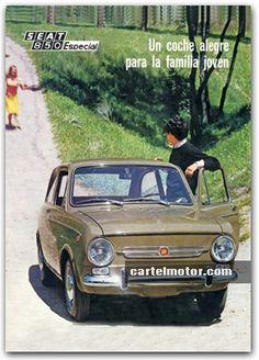 1968 - SEAT 850 ESPECIAL Vintage Ski, Vintage Cars, Fiat 126, Volkswagen Group, Culture Club, Car Advertising, Nostalgia, Old Cars, Jaguar