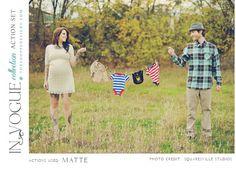 A Great Maternity Photo Idea!