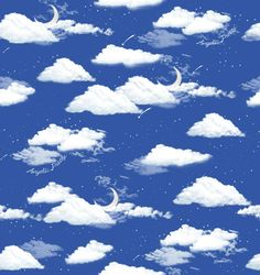 Angelic Pretty's Misty Sky background
