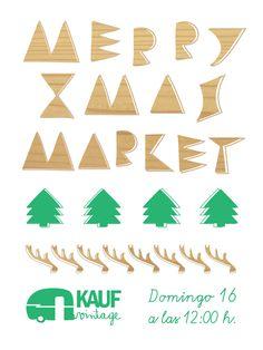 Merry Xmas Market - KAUF vintage, 16.12.12 - © Javier Llanes Xmas, Marketing, Design, Vintage Clothing, Christmas, Navidad, Noel, Natal