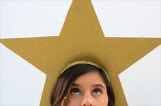 How to Make a Shooting Star Costume for Halloween Kids Star Costume, Nativity Star Costume, Tree Costume, Christmas Pageant, Christmas Program, Christmas Star, Christmas Themes, Christmas Skits, Xmas