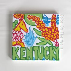 Kentucky+Canvas++Lilly+State+Of+Mind+by+ColorOnTheWalls+on+Etsy,+$22.00
