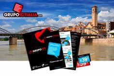 Grupo Actialia ha presentado sus servicios en Tortosa de diseño web, diseño gráfico, imprenta, rotulación y marketing digital. Para más información www.grupoactialia.com o 977.276.901