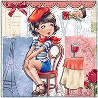 Si Belle! - Digital Stamp - $2.55 : Digital Stamps, Scrapbooking, Crafts, Artisan Resources, cardMaking, Paper Crafts, Digital Crafting by The Paper Shelter