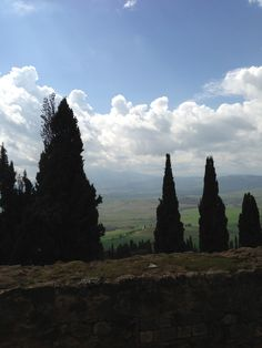 A view from Tuscany