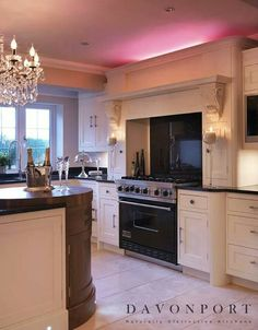 Curved Canopy Housing Extractor Kitchen Lush