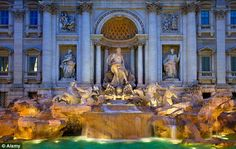 Trevi treasure: The many delights of Rome can be explored as you recreate the movie Roman Holiday