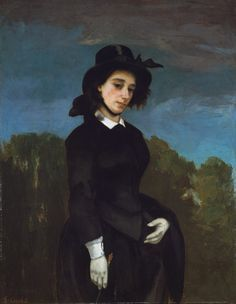 Courbet | Woman in a Riding Habit (L'Amazone) | The Met