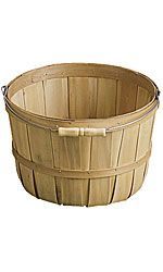 wooden display baskets... only $3.95 each!