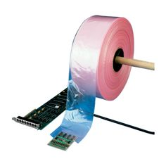 4 Mil #AntiStatic #PolyTubing - Pink Anti-Static material contains additives that effectively eliminate the hazard of static damage to sensitive electronic components during packaging, storing and shipping. It has a surface resistivity of 1012 ohms/sq.in. and is amine-free, so it won't damage sensitive polycarbonate boards. PAS tubing is designed for applications in which Faraday Cage Protection is NOT required. #antistatic #bubblebag #recloseable #barrier #conductive #antistaticpolybags