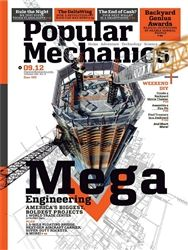 Popular Mechanics inspires, instructs and influences readers to help them master the modern world, whether it's practical DIY home-improvement tips, gadgets and digital technology, information on the newest cars or the latest breakthroughs in science. Tech Magazines, I Am An Engineer, Popular Mechanics, Science And Technology, Digital Camera, Magazine Covers, Diy Ideas, Engineering, September