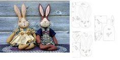 Conejo. Incluye patrones.