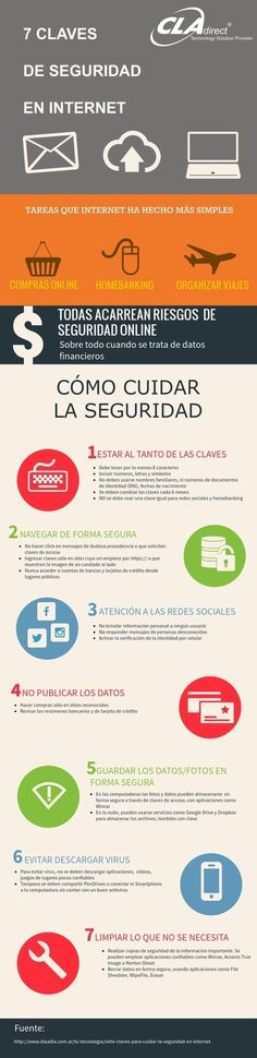 7 claves de seguridad en Internet | TIC & Educación | Scoop.it