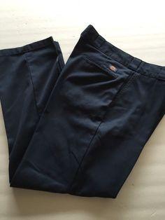 Mens Blue  Dickies Work Pants 36 x 30 Free Shipping  #Dickies