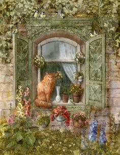 Galina Egorenkova | ILLUSTRATION | Window