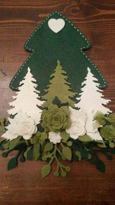 Felt Crafts, Holiday Crafts, Diy And Crafts, Christmas Makes, Christmas Holidays, Felt Christmas Decorations, Christmas Ornaments, Felt Ornaments, Christmas Inspiration