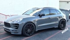 Neither Hamann Porsche Macan wide body kit, nor this particular car are exactly hot news. Porsche Macan Gts, Porsche Suv, Wide Body Kits, Car Drawings, Macan S, Volvo V60, City Car, Sport Cars, A Team
